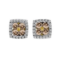mumbai color stone earring manufacturer stud colored earrings exclusive diamondsheritage from diamond