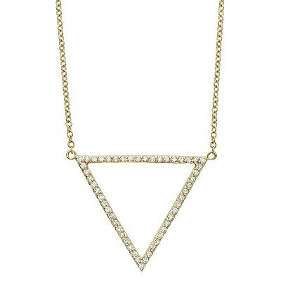 image w main product macys shop triangle wrapped fpx for pendant in created necklace diamond ct gold t