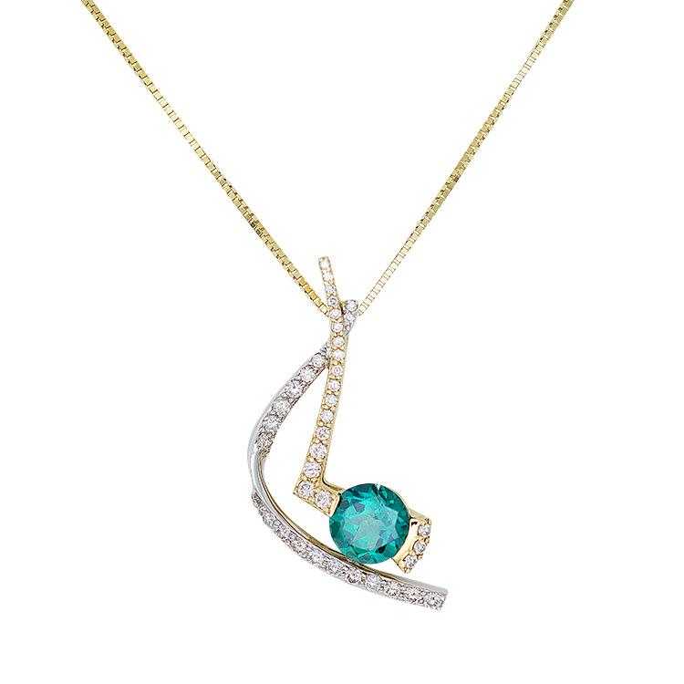 Blue topaz diamond pendant contact us blue topaz diamond pendant aloadofball Image collections