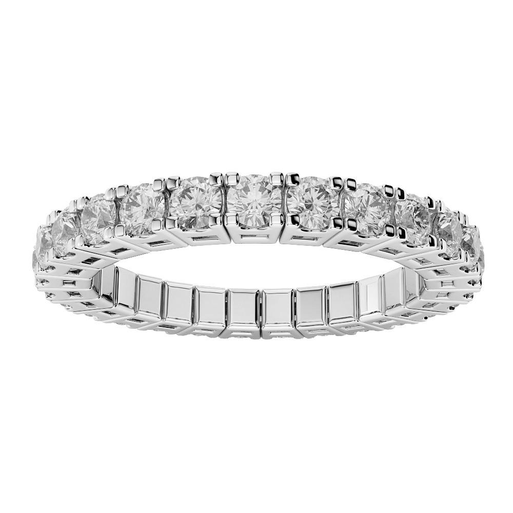 DIAMOND FLEXIBLE WEDDING BAND Herteen and Stocker Jewelers