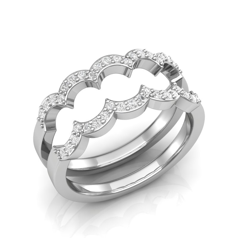 Diamond Stackable Style Bands Contact Us