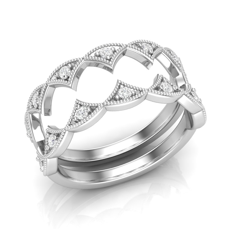 DIAMOND STACKABLE STYLE BANDS