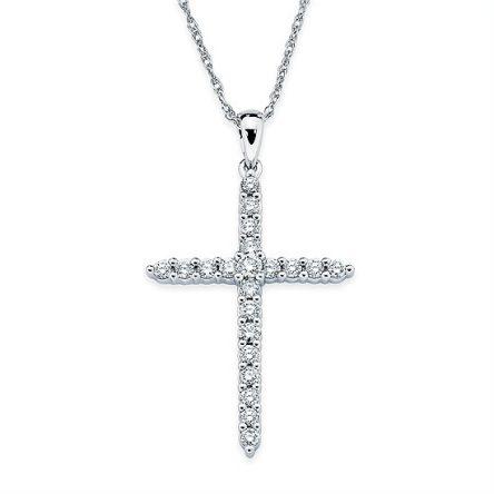DIAMOND CROSS PENDANT