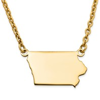 STATE OF IOWA PENDANT