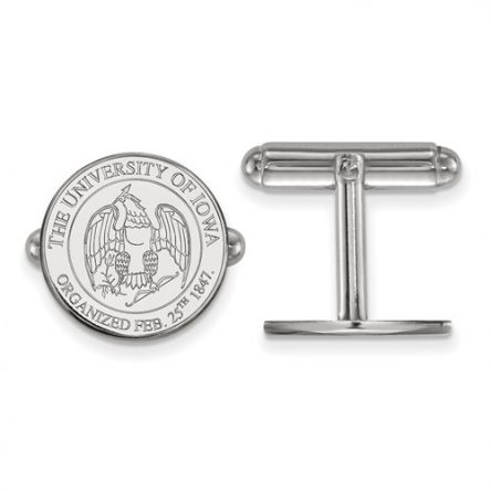 IOWA CREST CUFF LINKS