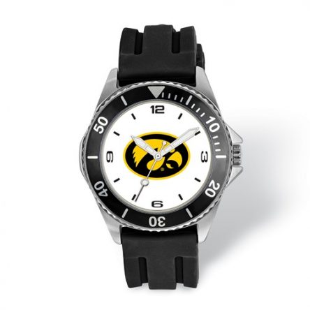 UNIVERSITY OF IOWA COLLEGIATE GENTS WATCH