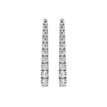 DIAMOND STICK EARRINGS