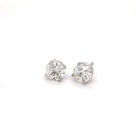 2.00CT TOTAL WEIGHT DIAMOND STUD EARRINGS